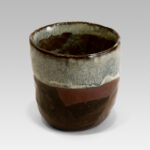 Hand crafted, hand finished, hand glazed cup