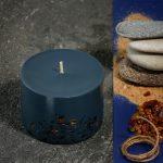 Sojų vaško žvakė Gintaro kvapo