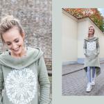 SAMADHI ilgas džemperis Žalias