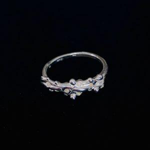 """Ag jewellery žiedas """"Lašeliai"""""""