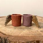 Ceramic Heart espresso puodeliai, 2 vnt.