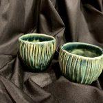 Indeliai keramika glazūruotas indelis