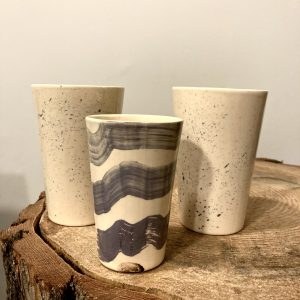 Mina ART keramikinė stiklinė